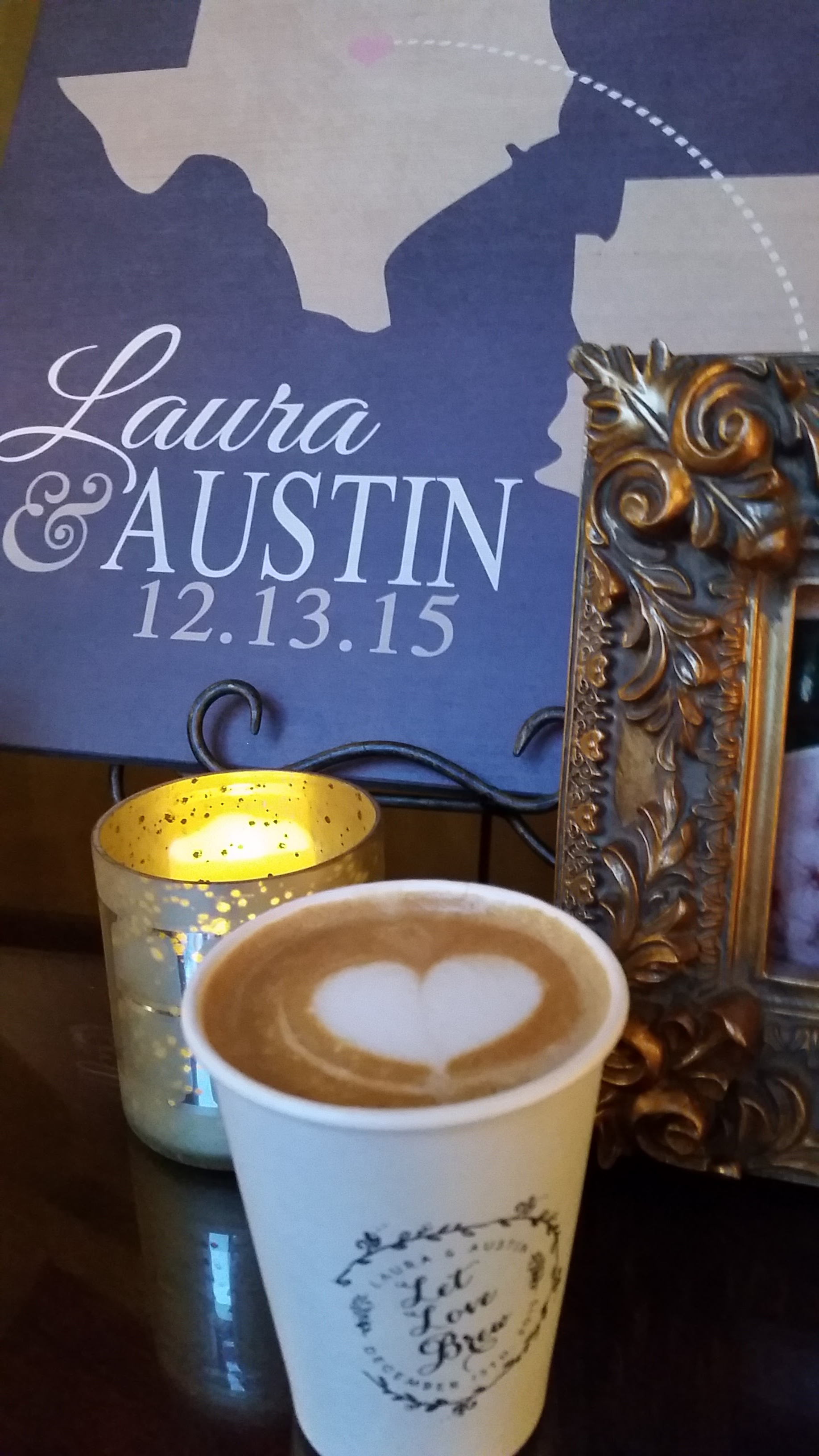 12/13/15 Wedding - Latte & Sign