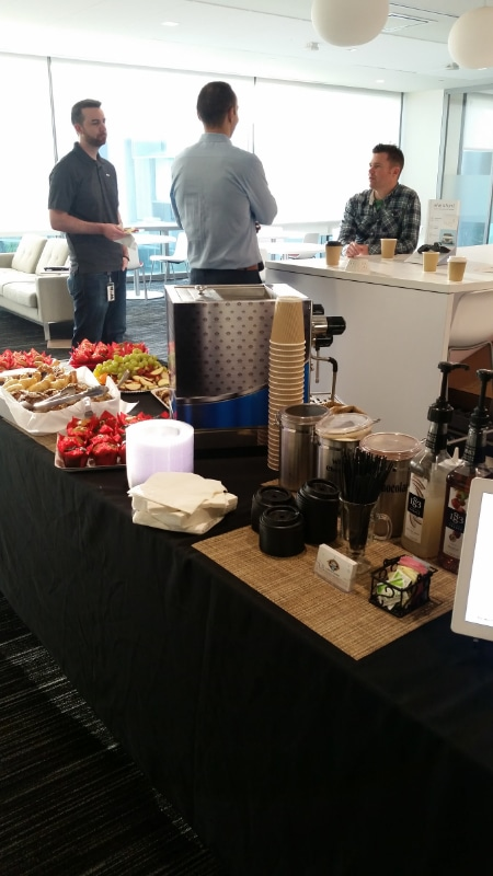 Verizon Appreciation Day - Lattes' Setup