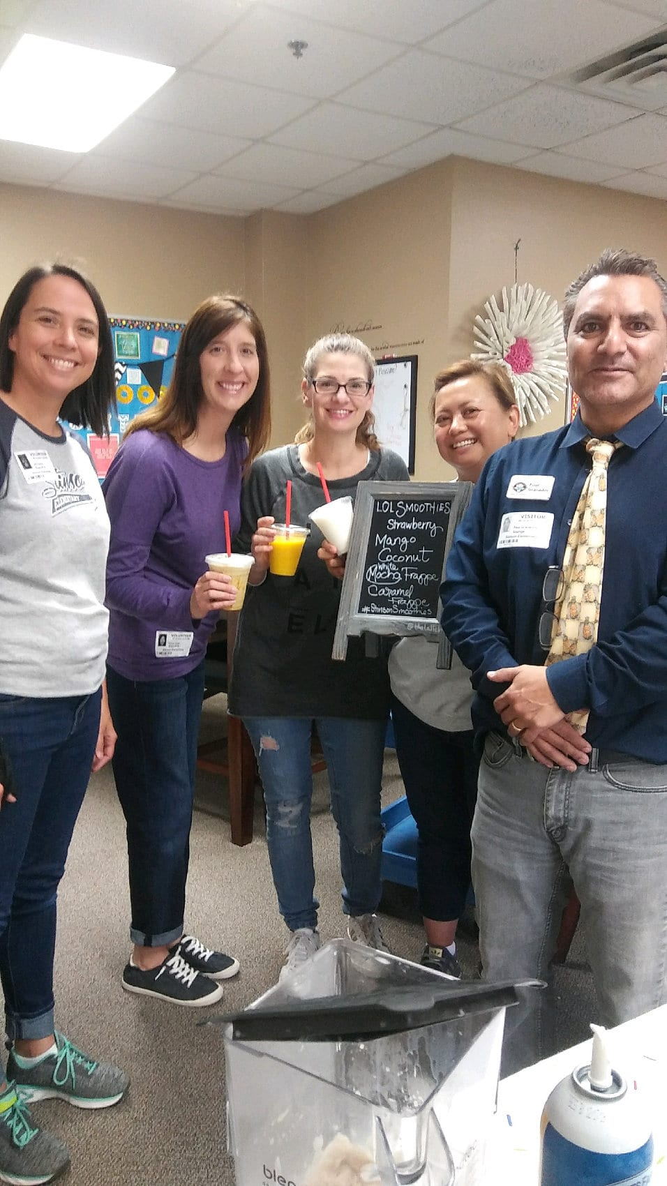 Teacher Appreciation Week - Lattes on Location