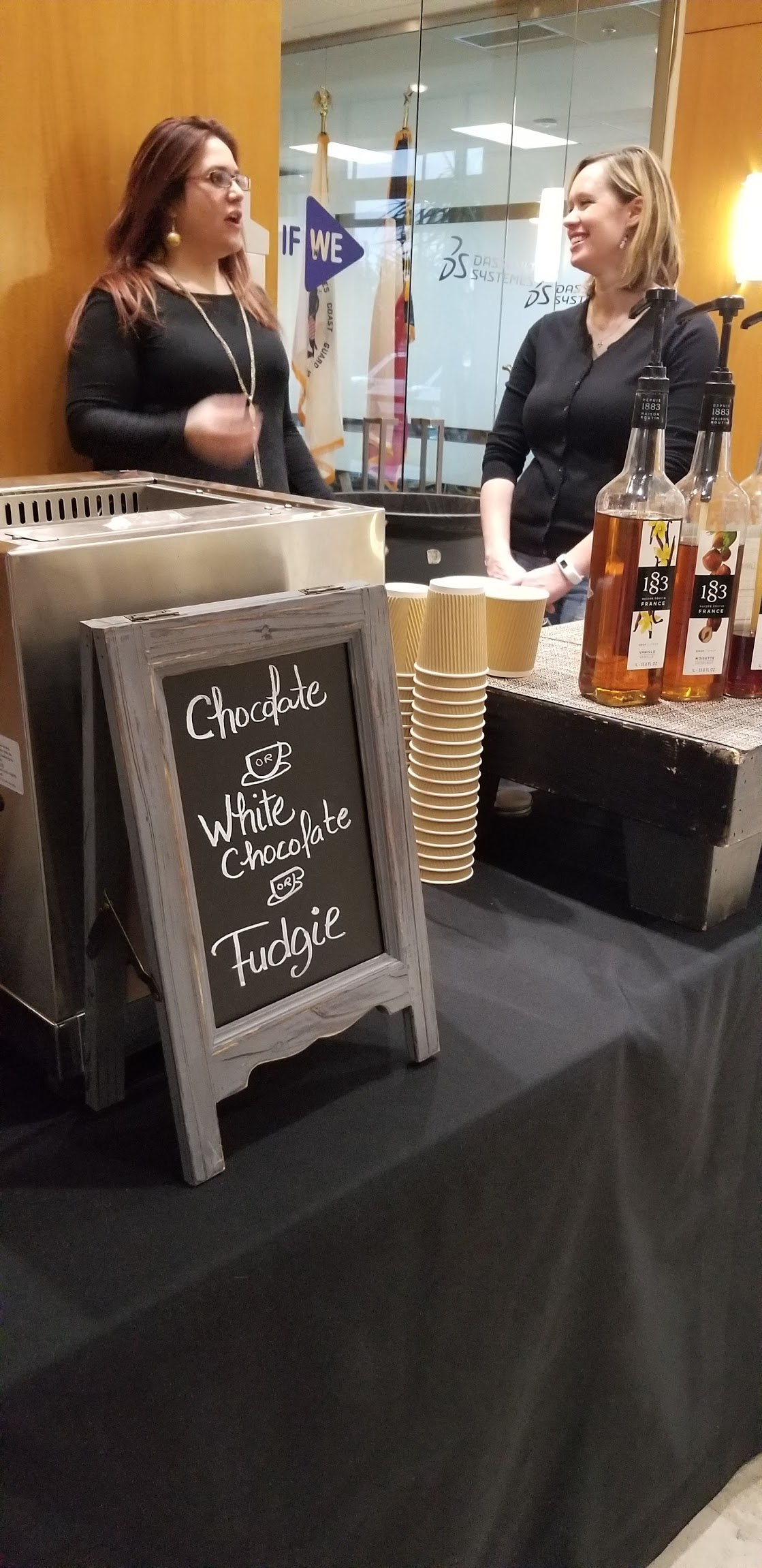 Hot Chocolate Bar Events | Mobile Bar Catering