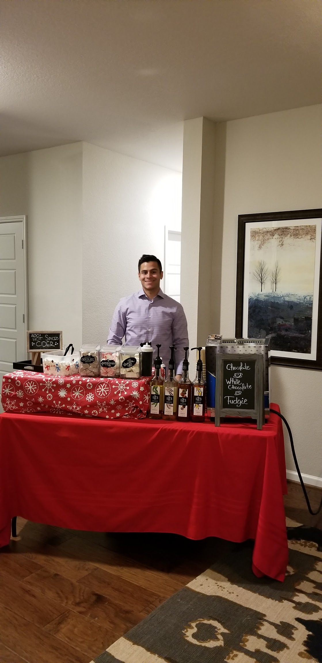 Hot Chocolate Bar Events   Mobile Bar Catering