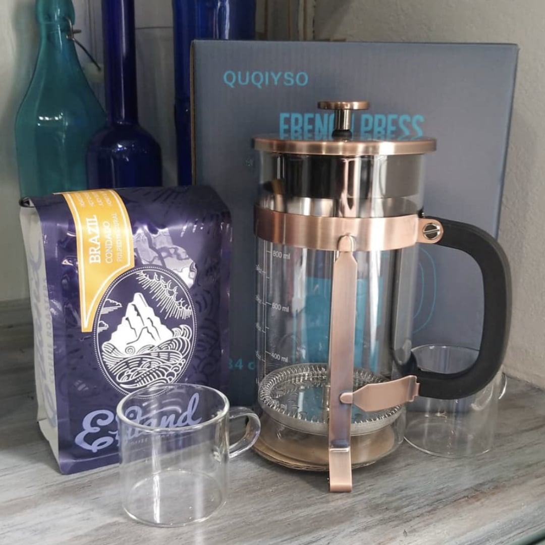 French Press Home Brew Method
