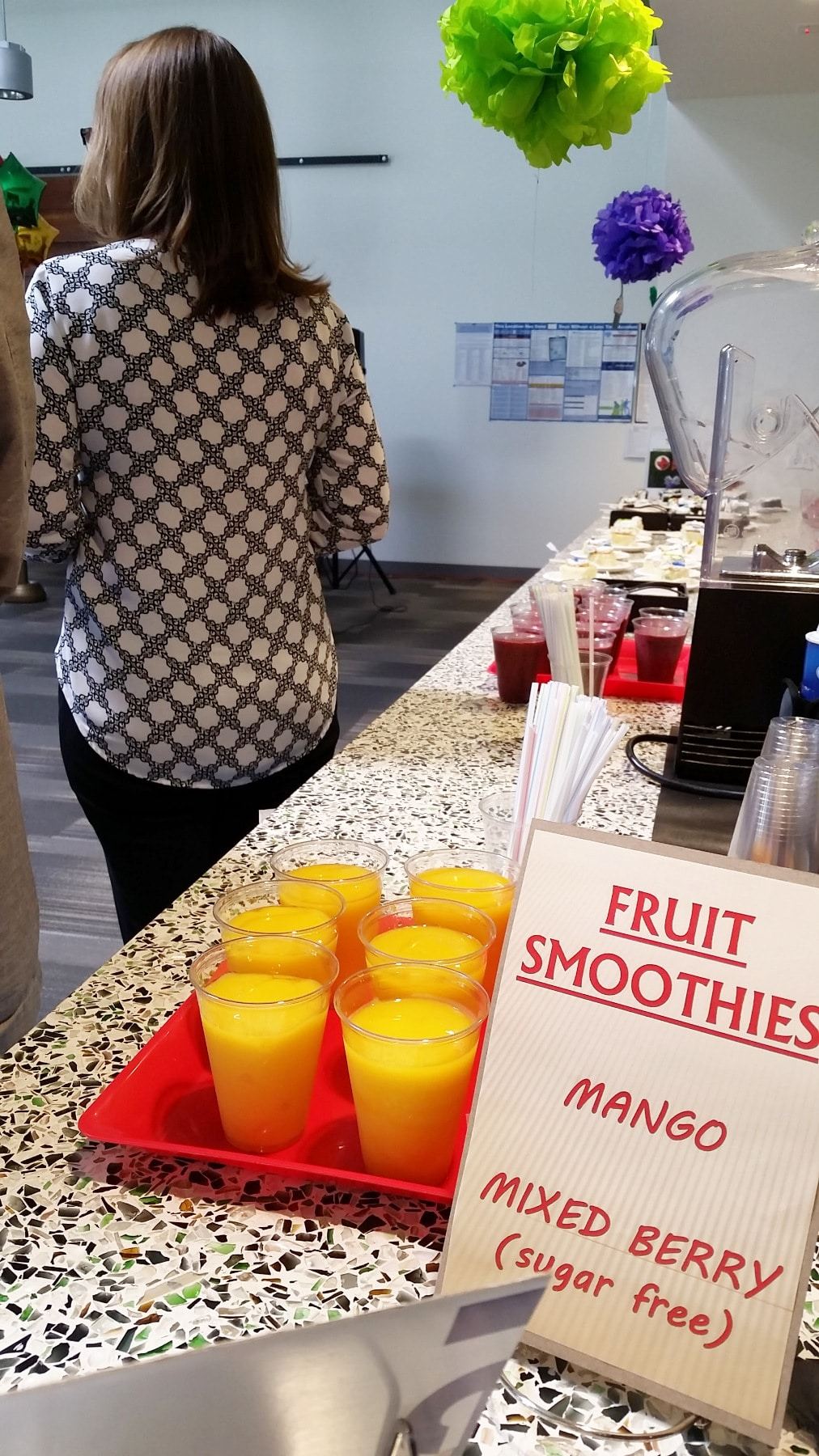 Smoothie Bar Catering
